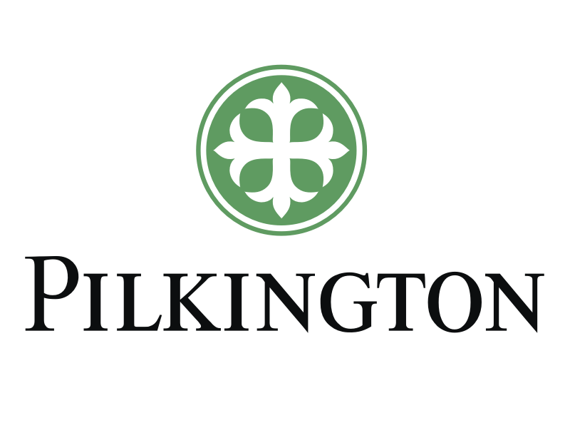 Фотография логотипа Pilkington